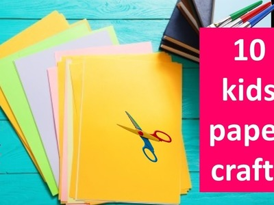 10 Easy kids craft ideas with paper | Origami ideas | cool crafts for kids