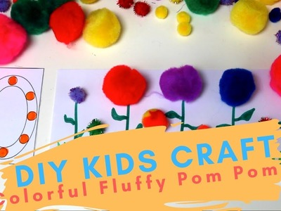 "4 of the Easiest ""Pom Pom"" DIY Craft Learning Activities for Preschoolers"