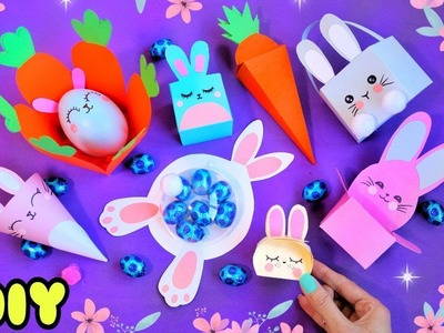 9 Easy and Cute EASTER CRAFTS and DIYs ????GIFTS