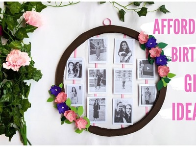 Affordable Birthday Gift idea | Wall Decor idea | Vinnis Craft Ideas