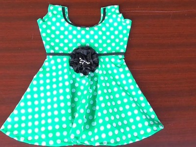 Baby frock cutting and stitching method in tamil