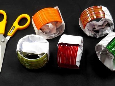 Bangles Craft Idea || DIY Home Decor with bangles || DIY Home Decor
