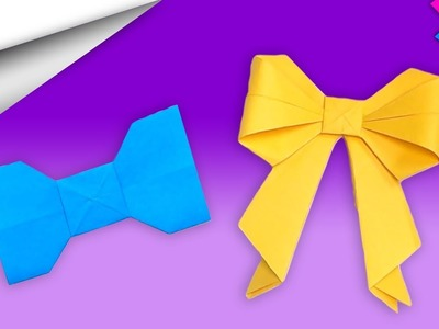 Bow Tie ???? Paper Craft | DIY crafts | How to make minute crafts for kids | easy origami