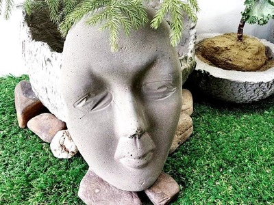 DIY cement craft ideas haw to make beautiful cement craft very easy