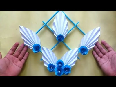 DIY Paper Wall Hanging Decor | Wall Hanging Ideas | Room Decor Craft Ideas | Handmade Thing