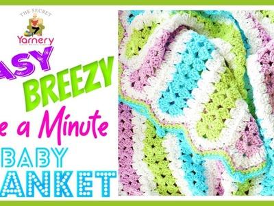 Easy Breezy Mile A Minute Crochet Baby Blanket Pattern