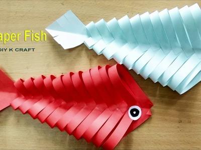 Easy Origami Paper Fish | DIY K CRAFT