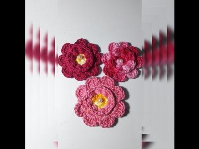 Flor Puff Margarida -  Rasteira