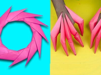 Dynamic Origami: The Ring to Ninja Star Switcheroo | Skillshare ... | 300x400