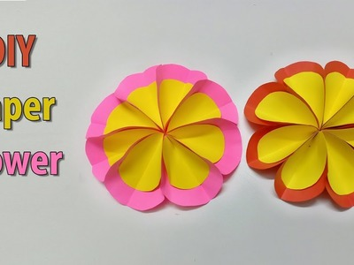 How to make Paper Flower | DIY Flower | Paper Craft