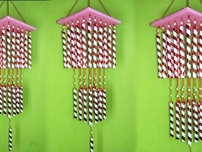 How to make wind chime. Wind chime craft ideas. Wind chime making at home