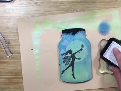 MDF Fairy in a Bottle - Craft Tutorial