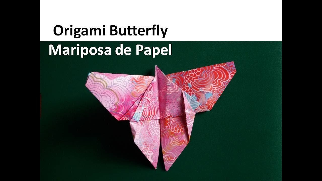 Origami Butterfly - Mariposa de Papel
