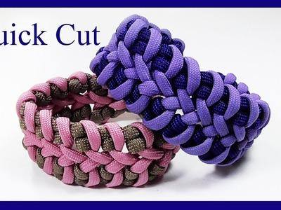 """Paracord Bracelet: """"The Rib Cage"""" Bracelet Design - Quick Cut"""