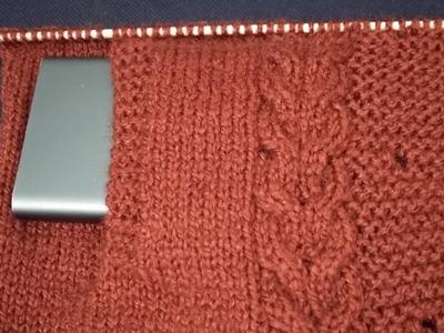 Side pocket cardigan.gents sweater k leye#137