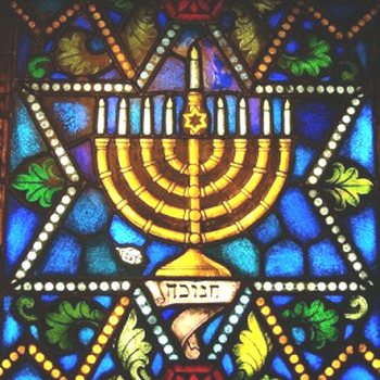 Jewish Menorah Cross Stitch Pattern***LOOK***X***INSTANT DOWNLOAD)***