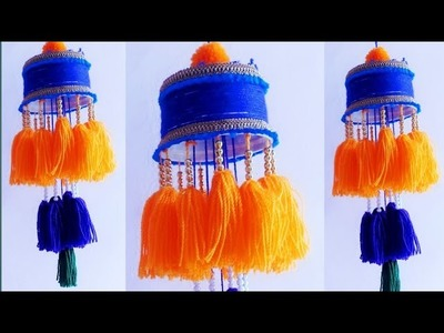 WOW!!! Amazing wall hanging ideas \\ceiling  hanging ideas \\woolen craft ideas \\