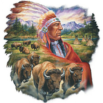 Crafts Chief & Buffalo Cross Stitch Pattern***LOOK*** PREVIEW A SAMPLE OF MY PATTERNS DETAILS BELOW