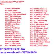 CRAFTS Chief & Buffalo Cross Stitch Pattern***LOOK***Buyers Can Download Your Pattern As Soon As They Complete The Purchase