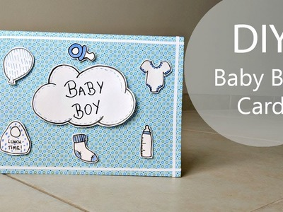 DIY Baby Boy Card | with Free Printable