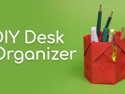 DIY Creative Desk Organizer - 92Crafts