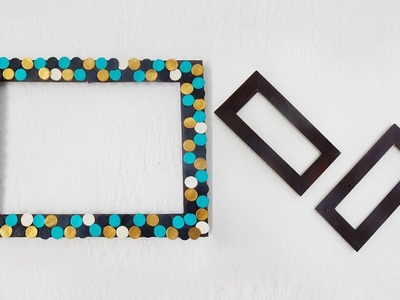 DIY Empty Picture Frame Wall Art