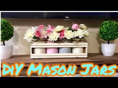 Diy Mason Jar Chalk Painted Crafts