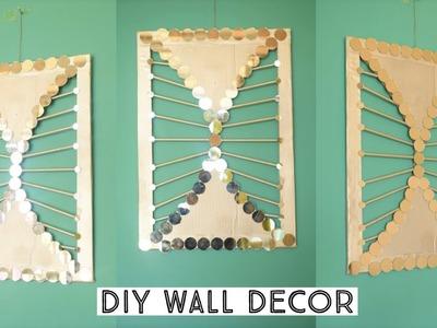Diy wall hanging || wall decoration ideas| diy wall decor| | parul pawar