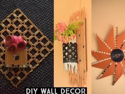 Easy wall hanging ideas|| wall decoration ideas| diy wall decor| | parul pawar