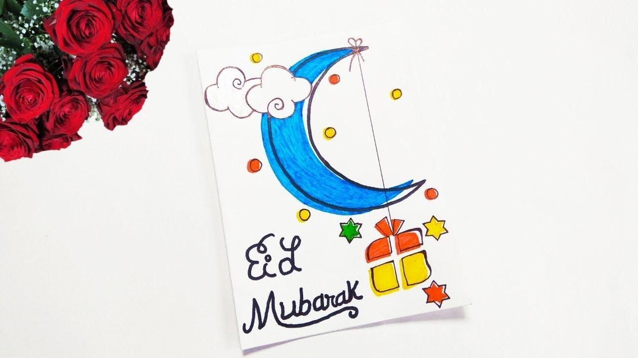 eid cards making ideas greeting card for eid mubarak diy