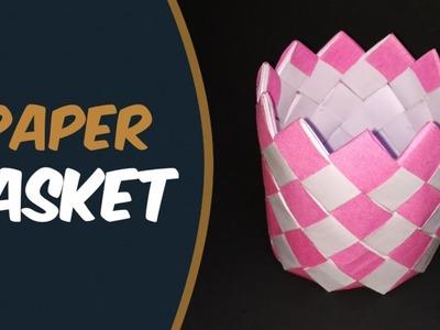 How To Make Paper Basket | Diy Paper Basket | Paper Basket