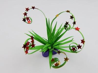 Miniature vase with flowers DIY doll house deco Miniatur Vase mit Blumen