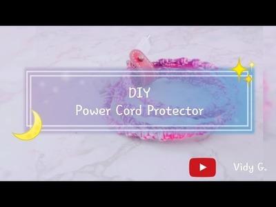 Power Cord Protector | DIY | Vidy G.