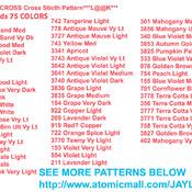 THE LIVING CROSS Cross Sticth Pattern***LOOK***
