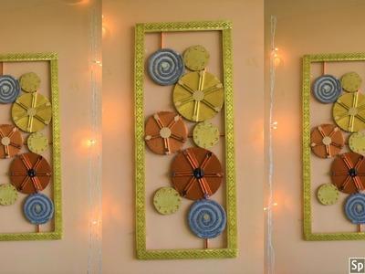 Unique wall hanging ideas|| wall decoration ideas| diy wall decor| | parul pawar