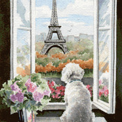 CRAFTS Vacation in Paris Cross Sticth Pattern***LOOK***Buyers Can Download Your Pattern As Soon As They Complete The Purchase