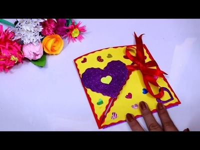 Amazing DIY Mother's Day Gift Ideas || Handmade Mothers Day Heart Shape Card ideas || Mother's Day