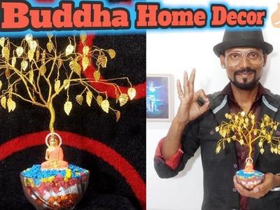 Buddha Home Decor.DIY Artificial Tree  Remo Art  