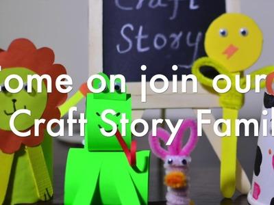 Craft Story Promo  #crafts #diy . #moralstory  #intro