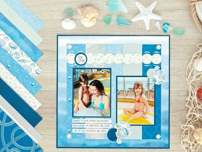 Deep Blue Sea Paper Pack by Creative Memories
