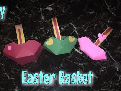 DIY Easter Basket 2019   How To Make A Really Easy Easter Basket