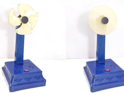 DIY- How to make High Speed Table Fan | Mini Fan | Battery power Fan