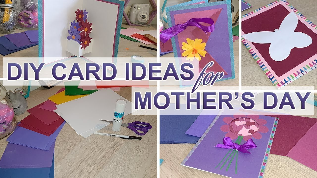 DIY Mother's Day Card Ideas