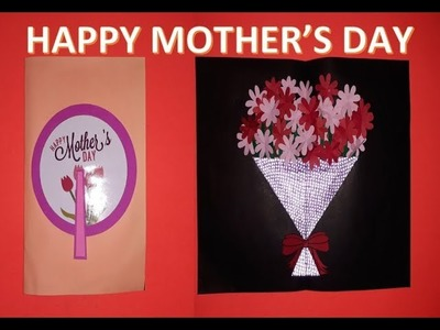 DIY MOTHER'S DAY GIFT IDEA + ROTATING MAGIC CARD + FLOWER POP-UP BOUQUET