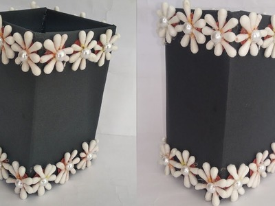DIY multipurpose storage box making for earbuds.makeup storege (22funmedia)