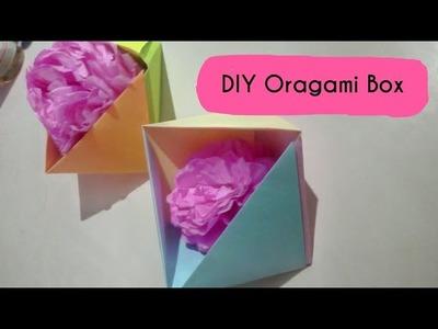 DIY ORAGAMI BOX |  Back to school supplies , | Easy  to make