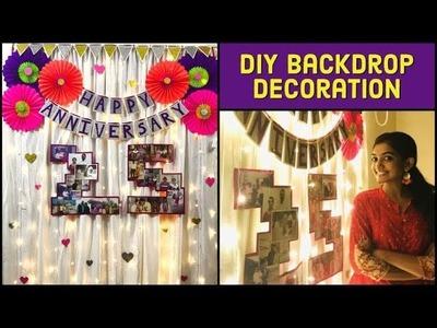 DIY Party Decoration ideas | Easy Anniversary decoration | Birthday decoration | Home decor ideas
