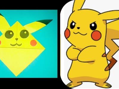 DIY PIKACHU BOOKMARK. How to make a pokemon bookmark