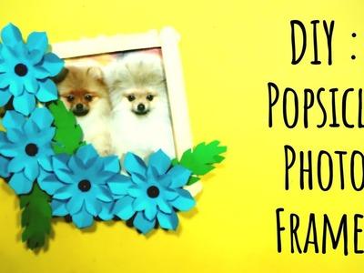 DIY : Popsicle Photo Frame!   OddMix   Swamini Kulkarni