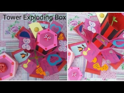 DIY. . Tower Exploding Box.????